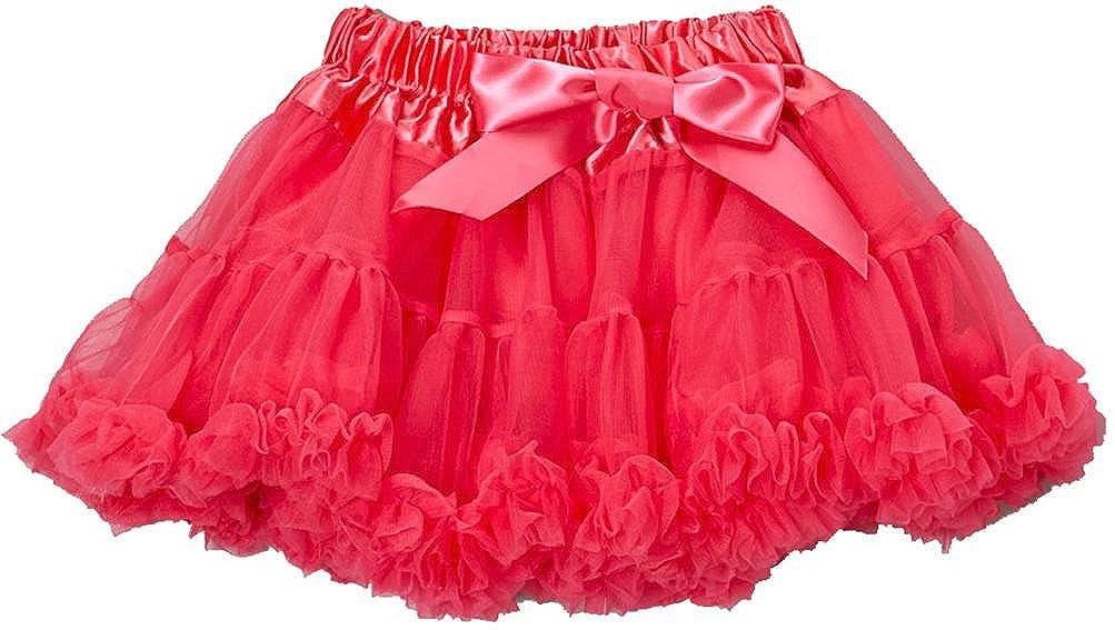 wenchoice Hot Pink Chiffon Pettiskirt Girls