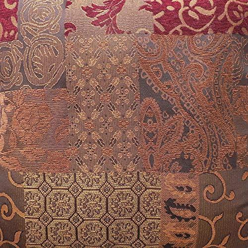 Croscill SCDX6405SET07 Galleria King Comforter Set Red