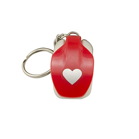 Amazon.com: Vaessen - Mini llavero con forma de corazón, 4.7 ...
