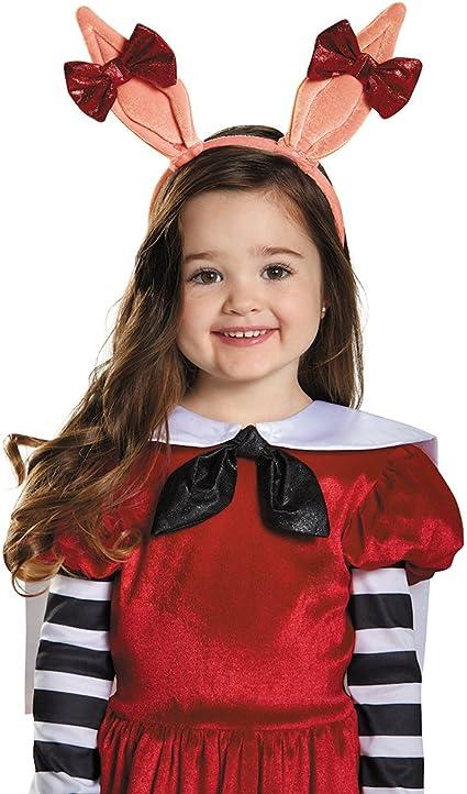 Girls Child Olivia Costume Pig W// Ears Headband