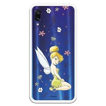 Carcasa Oficial de Disney Campanilla Clear para Xiaomi Redmi ...