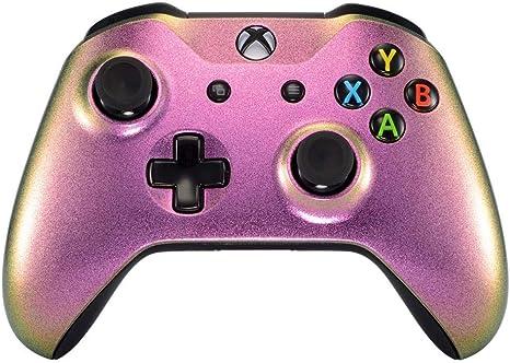 Xbox One S Un-MODDED - Mando a Distancia Personalizable, diseño único, Chameleon Purple/Green: Amazon.es: Electrónica