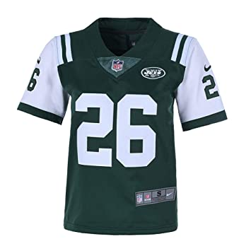 buy popular 1cf47 13ea5 Nbyjets Youth 8-20#26 LeVeon Bell New York Jets Home Green Jersey