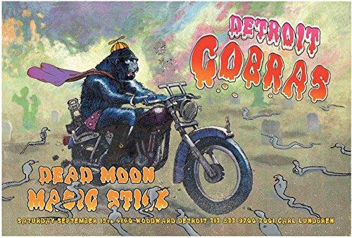Detroit Cobras Grande Ballroom Rock Concert Poster 19