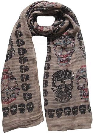 Foulard écharpe bandana tête de mort 9