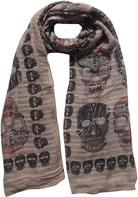 Acheter foulard echarpe bandana tete de mort online 17