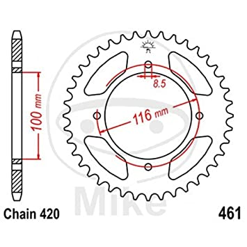jt rear sprocket 49 tooth pitch 420 inner diameter 100 bolt spacing Bolts Fine Thread Pitch jt rear sprocket 49 tooth pitch 420 inner diameter 100 bolt spacing 116 amazon co uk car motorbike
