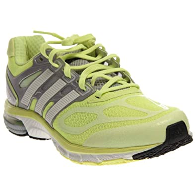 4c65df255 adidas Running Women s Supernova Sequence 6 W Glow Running White Metallic  Silver 10.5 B