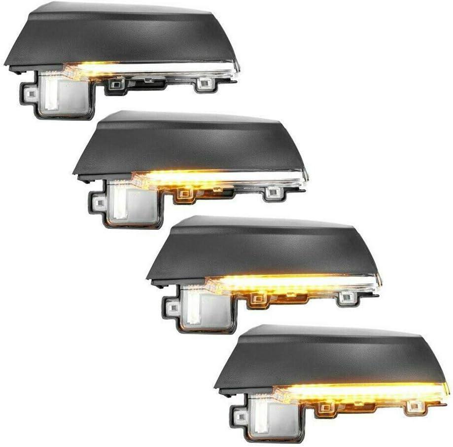 Dynamische Blinkerleiste f/ür Seitenspiegel f/ür Polo MK5 Facelift 6C 14-17 6R 09-13