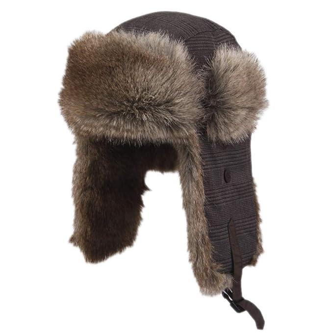 Sombreros De Caza Sombrero De Caza Sombrero De Aviador Sombrero De Patinaje De Invierno Clásico Protección