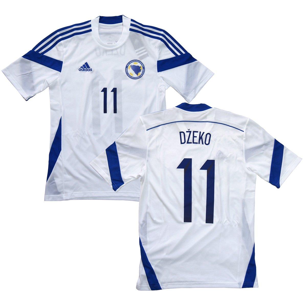 adidas 2014-15 ボスニアヘルツェゴビナ代表 アウェイ半袖 #11 DZEKO エディンジェコ B00MKOTUGE インポートM