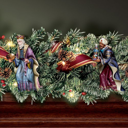 Thomas Kinkade Nativity Garland Set by Hawthorne Village by Hawthorne Village (Image #3)