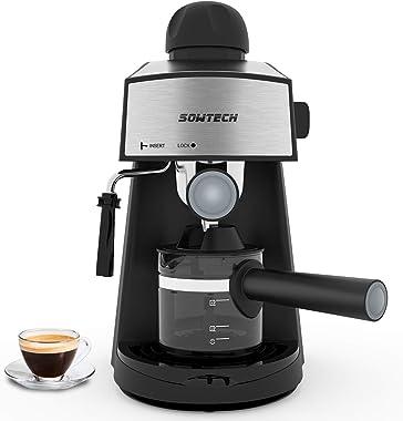 Sowtech CM6811 Espresso Machine 3.5 Bar 4 Cup