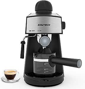 Amazon.com: Máquina de café expreso de 3,5 bar, máquina de 4 ...