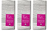 Raaka Chocolate Pink Sea Salt Dark Chocolate 71% cacao (1.8oz Bar – 3 Pack), Organic, Non-GMO, Kosher Premium Craft Chocolate, Vegan, Gluten and Soy Free, Bittersweet, Bean-to-Bar Dark Chocolate
