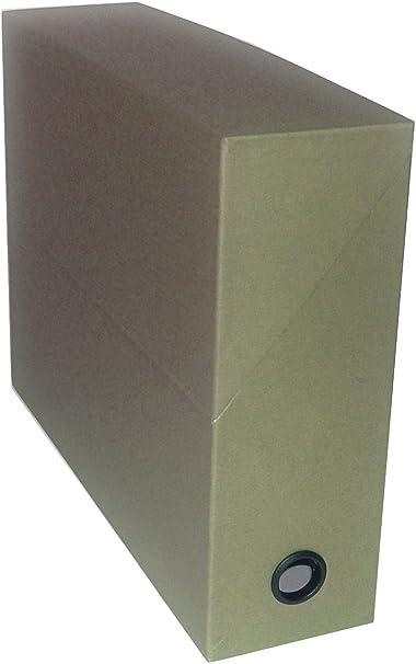 adine - Caja archivadora (345 x 255 x 90 mm), color verde: Amazon.es: Oficina y papelería