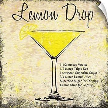 Amazon.com: Louise Carey Wall Peel Wall Art Print entitled Lemon ...