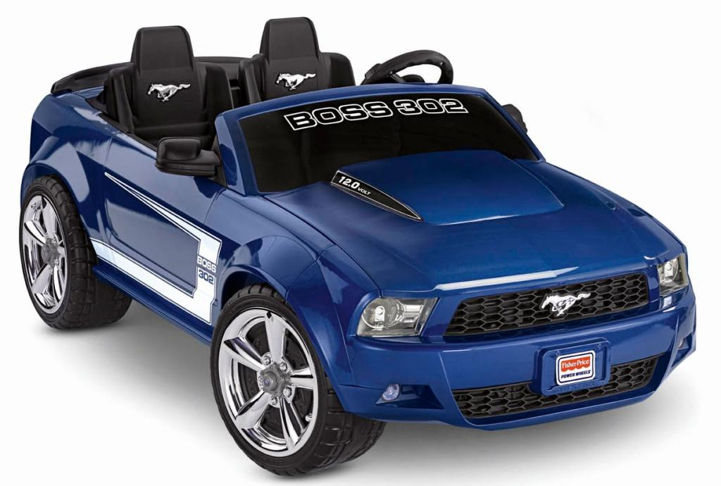 Amazon Com Power Wheels Ford Mustang Boss 302 Blue Toys