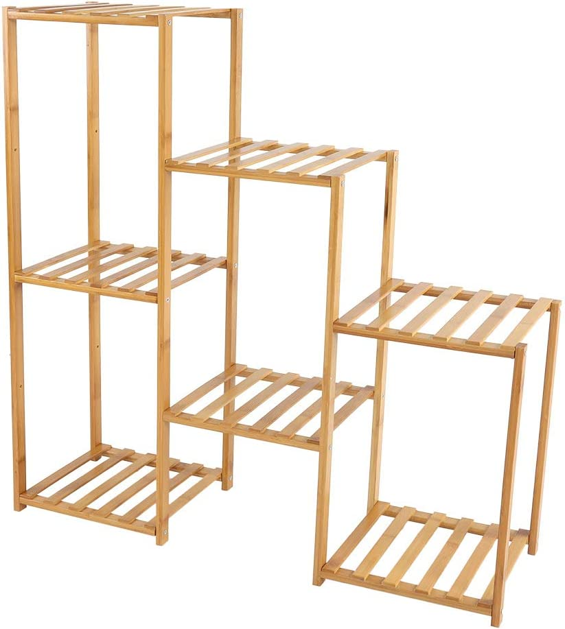 WYLZLIY-Home Multi-Layer Plant Stand Storage Rack Shelf Pot Holder for Indoor Outdoor Use