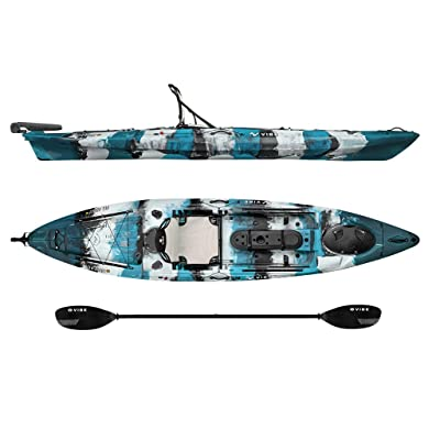 Vibe Kayaks Sea Ghost 130 Sit On Top Fishing Kayak Review