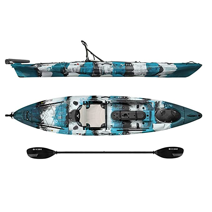 Vibe Kayaks Sea Ghost 130 Sit On Top Fishing Kayak Review