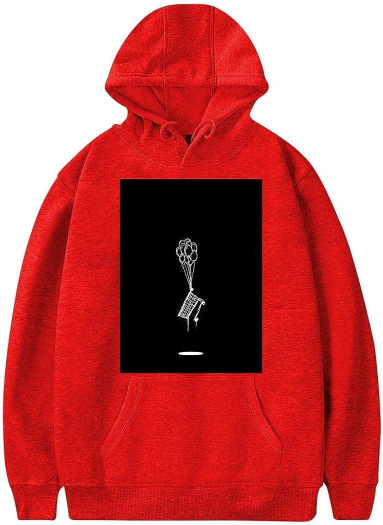Smdmic NF3 Mens Sweatshirt Casual 3D Printed Long Sleeves Blouse