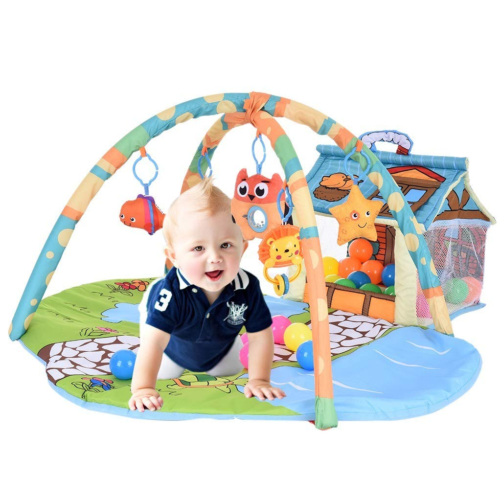 Arrowsy The Play Gym, Stage-Based Developmental Activity Gym & Play Mat for Baby to Toddler - US Stock by Arrowsy