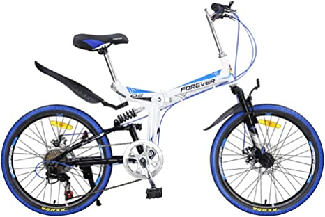 YEARLY Montaña Bicicleta Plegable, Adultos Bicicleta Plegable ...