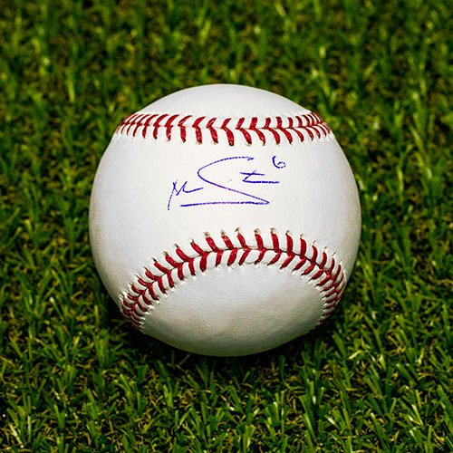 Marcus Stroman Autographed MLB Official Major League Baseball - Blue Jays A.J. Sports World