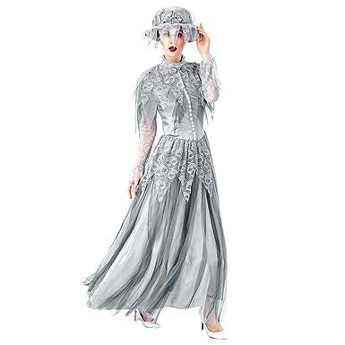 Vestido de Moda Mujer Halloween Cosplay Estilo Vintage ...