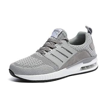 YAYADI Zapatos para Hombres Zapatillas Casual Hombres Instructores Diseñador Ejecuta Transpirable Zapatos Fitness Deporte Designer Jogging Ligero: ...