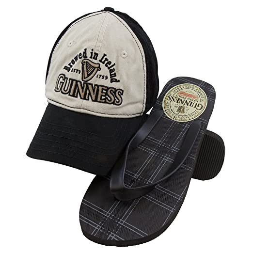 160729ecf20 Amazon.com  Guinness - Mens Brewed In Ireland Adjustable Cap And ...
