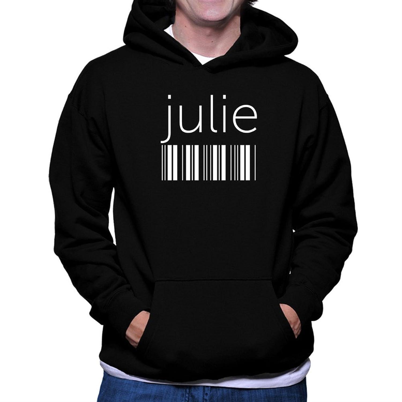 Julie barcode Hoodie