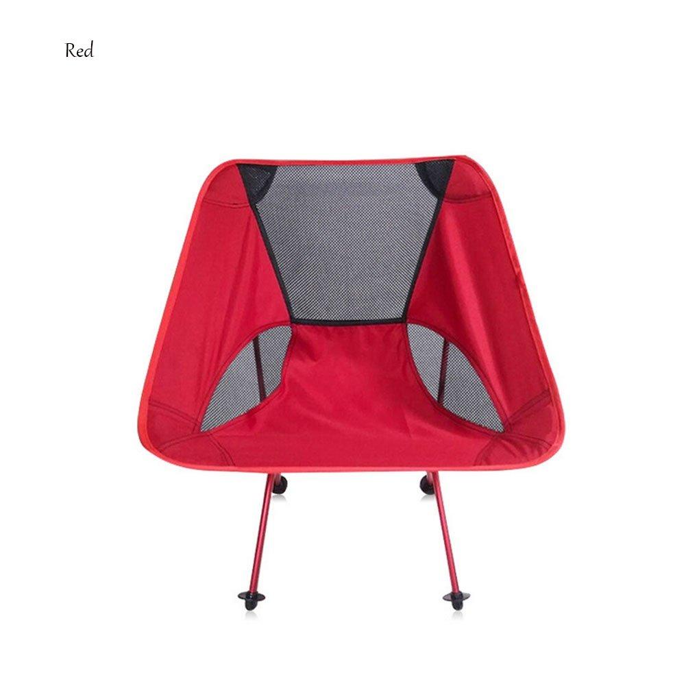 Outdoor Camping Barbecue Stuhl Portable Klappstuhl Aluminiumlegierung Angeln Stuhl