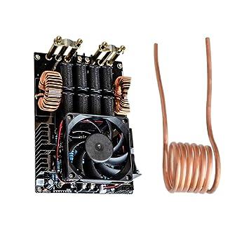 Magideal Calentador de Inducción de Alta Frecuencia Zvs Máquina De Calefacción 1kw Sin Tap