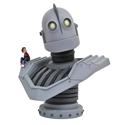 DIAMOND SELECT TOYS Legends in 3-Dimensions: The Iron Giant Movie Resin Bust Statue: Toys & Games