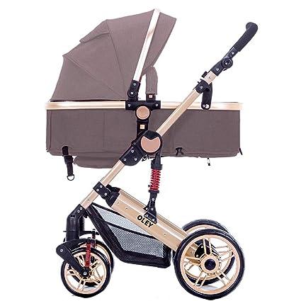 Baby Stroller Carrito de bebé Puede Sentarse o mentir el Cochecito ...