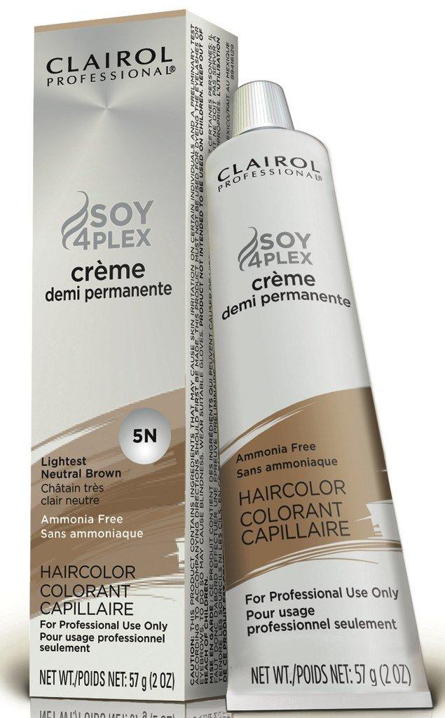 Clairol Professional 5N Lightest Neutral Brown Demi Permanent Hair Color 5N Lightest Neutral Brown