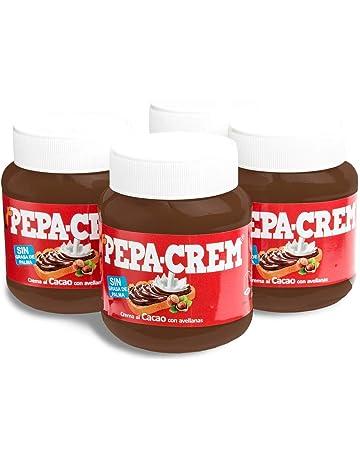 Pepa-Crem. Crema de cacao con avellanas para untar. Sin Aceite de Palma