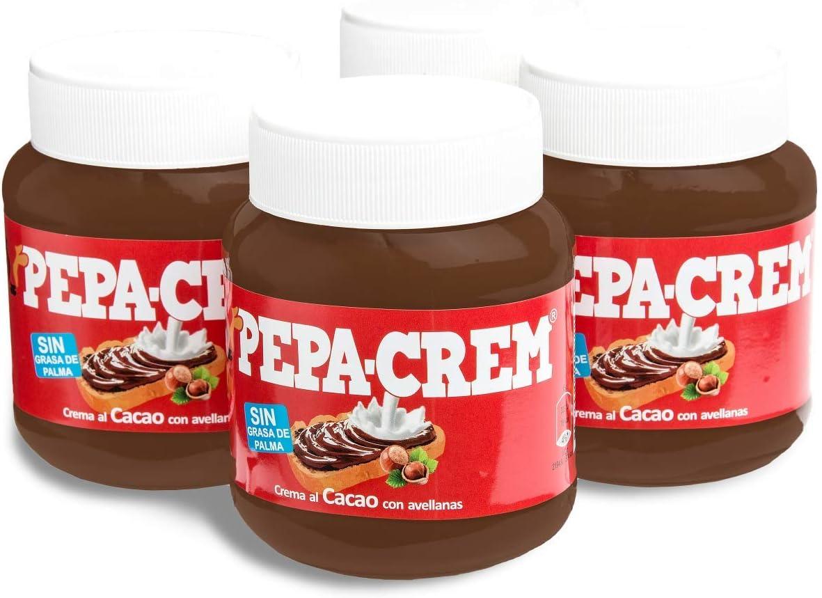 Crema de cacao con avellanas PEPA-CREM (4 botes)