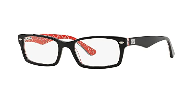 d7a711ca7c7f5 Amazon.com  RAY BAN 5206 SIZE 52 READING GLASSES +2.00  Clothing