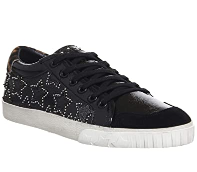 f1a0ef464373c Ash - Majestic Premium Trainer Shoe, Black/Silver