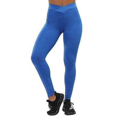 Amazon.com: Pantalones de yoga para mujer, fitness, ropa ...