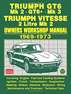 triumph gt6 vitesse owners workshop manual haynes service and rh amazon com Triumph Spitfire triumph gt6 service manual