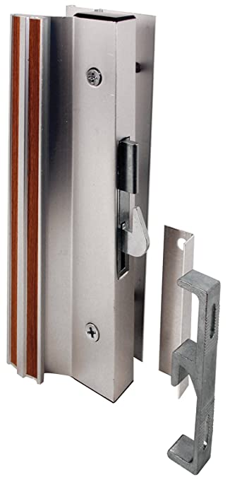 Prime Line Products C 1000 Sliding Glass Door Handle Lock, Hook Style,  Surface