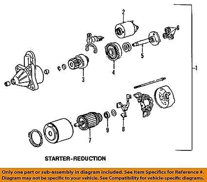 Fantastic Amazon Com Mazda Oem 88 02 626 Starter Bearing N32618X62A Automotive Wiring Digital Resources Zidurslowmaporg