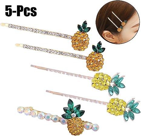 Baby Hair Clip Fascigirl 6 PCS Flower Hair Clip Fashion Decorative Barrette Kids Hair Accessories