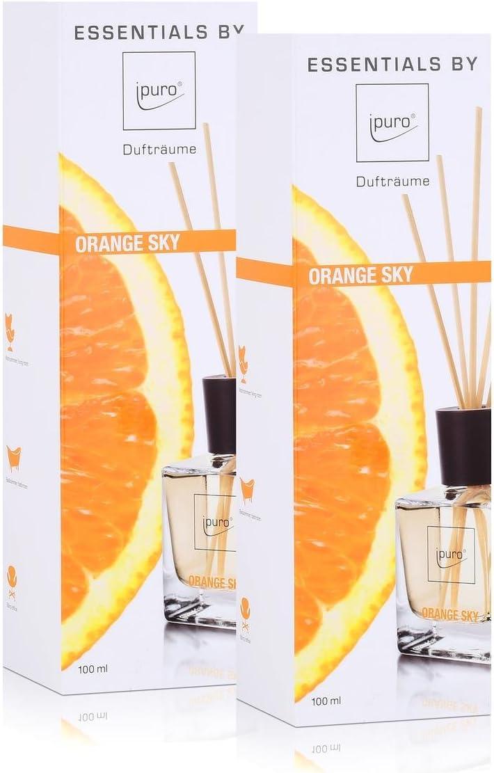 Confezione da Essentials by Ipuro Orange Sky 200/ML FRAGRANZA PROFUMO AMBIENTI