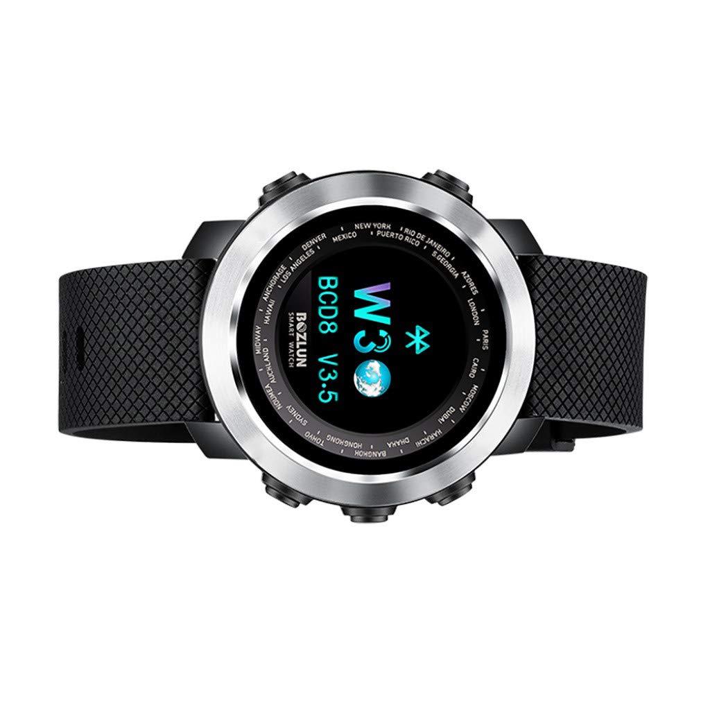 Amazon.com : Smartwatch Waterproof - Yezijin W30 Sports ...