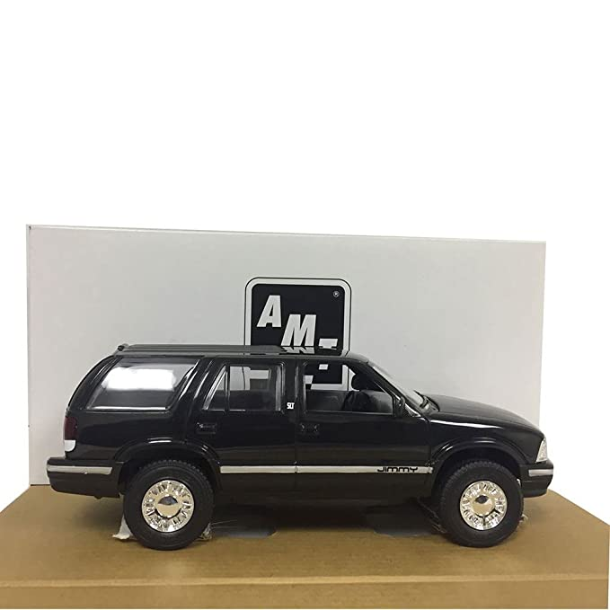 Amazon.com: AMT/ERTL 8983EO 1996 GMC Jimmy 1:25 Scale Plastic Black Promo Car Replica: Toys & Games